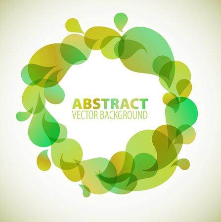 Abstract green background with place for your text Stock Vector - 7517605