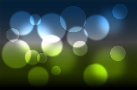 Abstract glowing light on a colorful background - spring theme photo