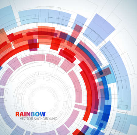 Abstract background with red and blue colors and place for your text Stock Vector - 8859117