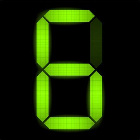 indicatore: Digital numero sei - controllare il mio portafoglio per altri numeri dal set