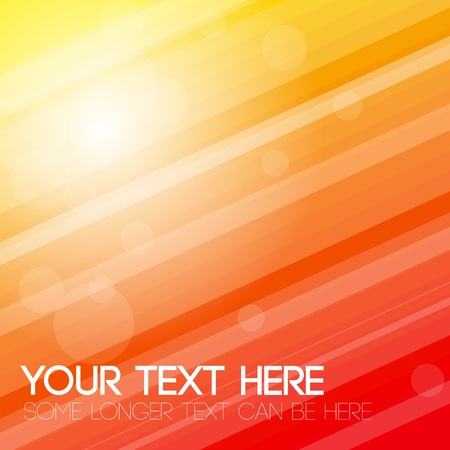 Abstract stripped background - yellow, orange and red Vector