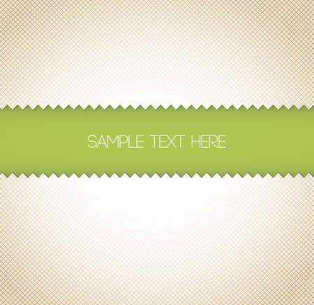 border line: Abstract retro paper background - green with place for your text