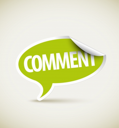 feedback link: Comment speech bubble