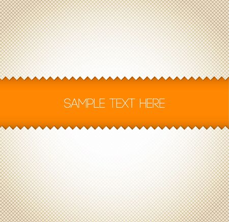Abstract retro paper background - orange  with place for your text  Vector