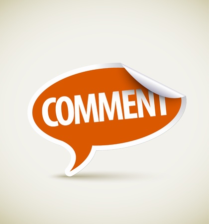 feedback icon: Comment speech bubble