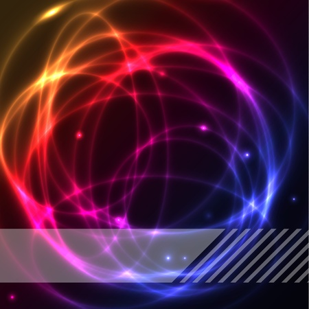 Colorful plasma vector ring background Stock Vector - 9516116