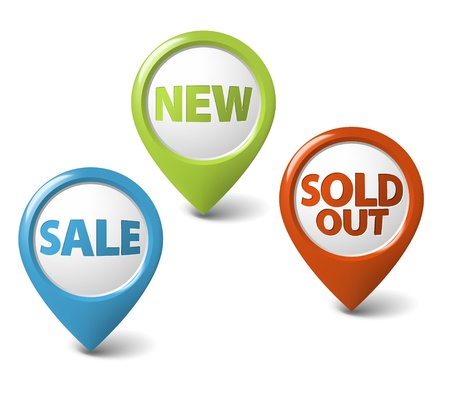 sold: Round 3D pointer for big sale, new and sold out items