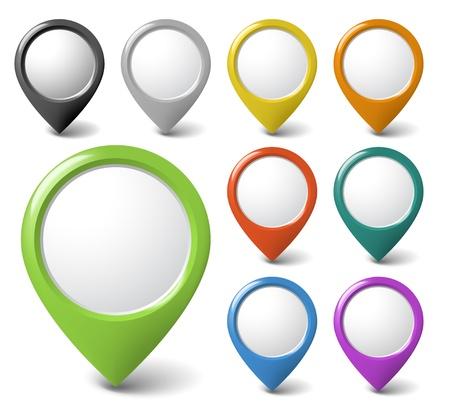 propina: Conjunto de ronda punteros 3D con lugar para su contenido - revisar mi cartera m�s