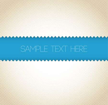 Abstract retro vector paper background - blue with place for your text Vector