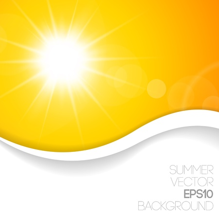 sunstroke: Summer background with place for your content