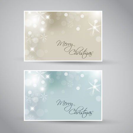 Set of vector christmas / New Year banners 2012 (blue and golden) Stock Vector - 10508803