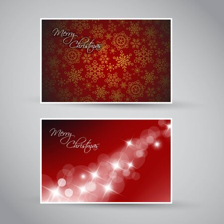 Set of vector christmas / New Year banners (cards) 2012 - blue version Stock Vector - 10567672