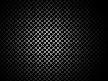 polished: Vector de la textura de metal  patr�n con agujeros y un lugar para el contenido Vectores