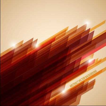 Abstract retro vector background made from stripes with place for your content Vector