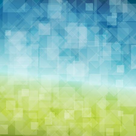 saturate: Spring abstract background with place for your text Illustration