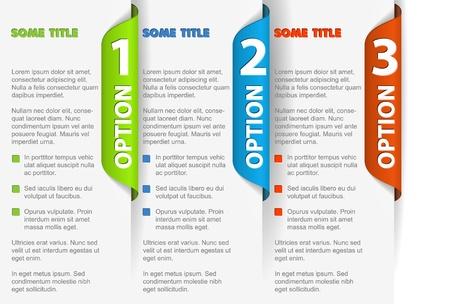 onglet: Livre progr�s Vecteur de fond  produit de choix ou de versions Illustration