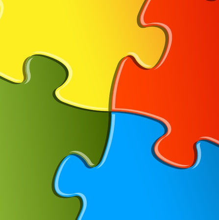 Abstract vector puzzle  solution background detail Vector