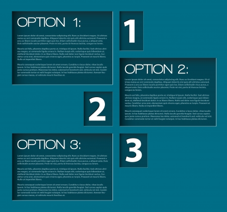 Paper Progress background  product choice or versions Vector