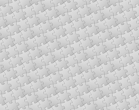 unfinished: Resumen de antecedentes de hecho de las piezas del rompecabezas blancos (pettern rompecabezas) Vectores