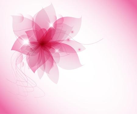 matrimonio feliz: flor rosa sobre fondo blanco