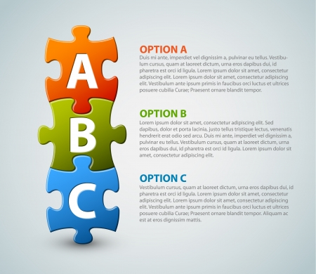 следующий: ABC иконки прогресса в течение трех шагов