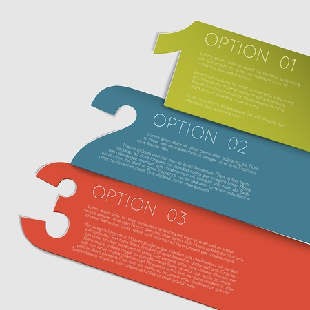 Vector Paper Progress background  product choice or versions Vector