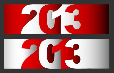 Original  New Year 2013 card / illustration with place for your text Stock Vector - 16583655