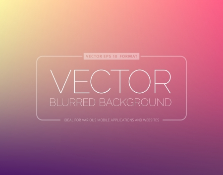 Abstract blur background with place for your text Stock Vector - 25237617