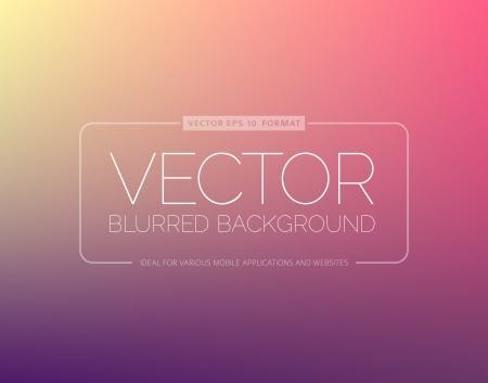 Desenfoque de fondo abstracto con el lugar para el texto Ilustración de vector