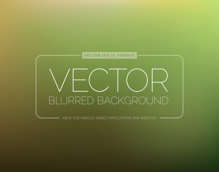 Abstract green blur background with place for your text