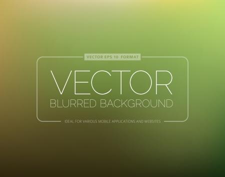 Desenfoque de fondo verde abstracto con lugar para el texto