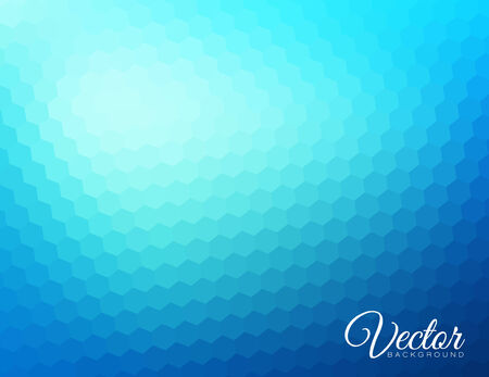 Abstract blur background made from hexagons with place for your text Vector