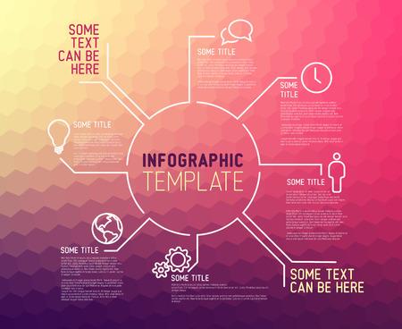 Designer Lines : Modern simple business card template for ux designer or web