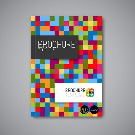 Moderne Vector abstract brochure / livre / modèle de conception flyer