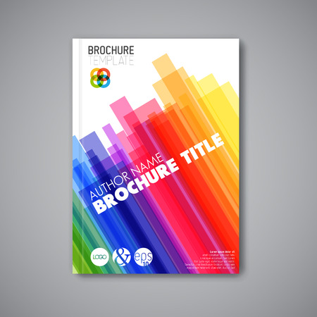 catalog background: Modern Vector abstract brochure  book  flyer design template