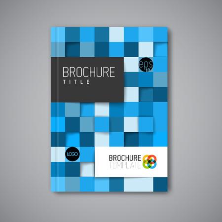 book covers: Modern Vector abstract brochure  book  flyer design template