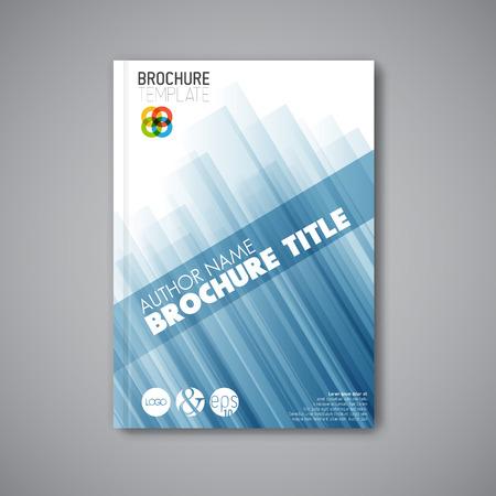Moderní Vector abstraktní brožura  book  flyer šablony návrhu