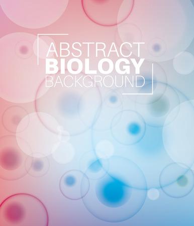 biologia: Fondo abstracto con la biología moleculs y virus