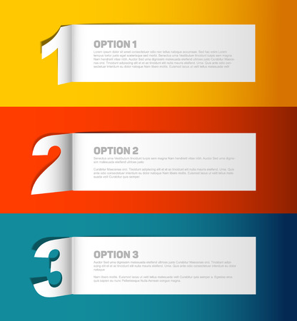paper product: Vector Paper Progress background  product choice or versions Illustration