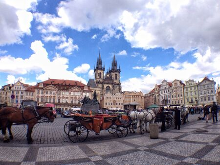 old town square: Old town square