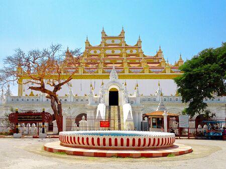 maha: Atumashi Monastery (Maha Atulaveyan Kyaungdawgyi), Buddhist monastery located in Mandalay, Myanmar. The Monastery was built in 1857 by King Mindon.