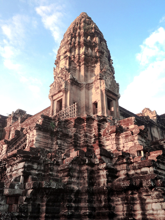 Center area of Angkor Wat 版權商用圖片