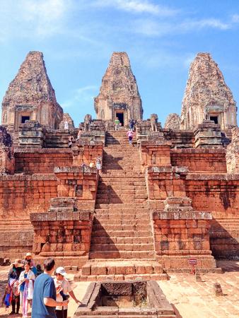 Ta Keo temple Cambodia. Ta Keo is a temple-mountain in Angkor.