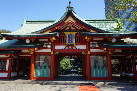 shinto: shinto shrine