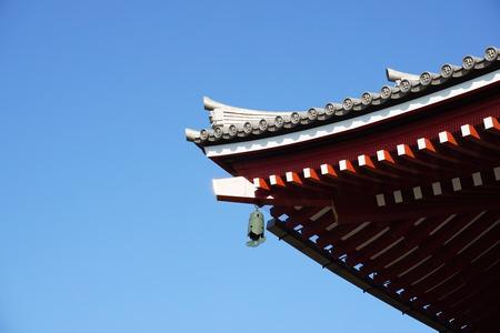 asakusa: temple in Asakusa