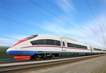 highspeed: High-speed commuter train.