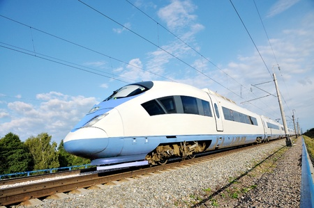 High-speed commuter train  Modern business train  High-speed rail  Express  Peregrine  Russia  Train  Sapsan
