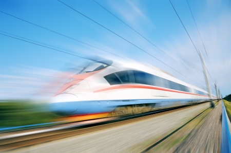 express train: Alta velocit� ferroviaria pendolare moderno treno ad alta velocit� di business ferroviario espresso Peregrine Russia treno Sapsan Editoriali