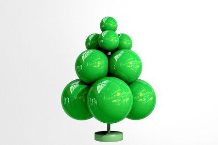 symbolic: symbolic Christmas tree toy