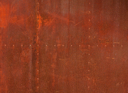 worn structure red: Texture red metal background.
